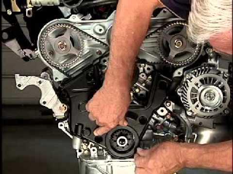 Cp-club.ru: Замена ремня ГРМ бензинового двигателя 3,0 л 6B31. Часть 2