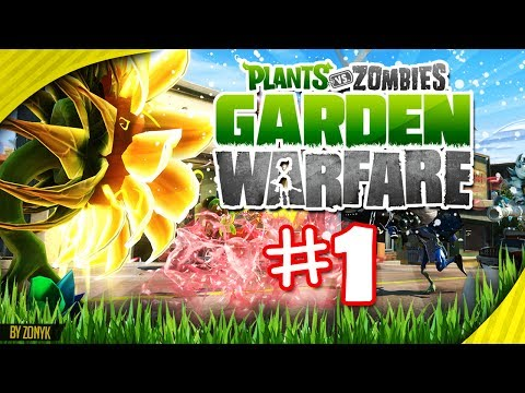 Jardines y Cementerios #1 [Let's Play] - Plantas vs Zombies Garden Warfare (Xbox 360 - Español)