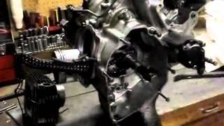 yamaha 350 engine teardown part 1 of 3