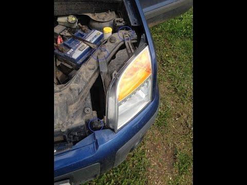 Замена ламп ближнего света и габаритов на форд фьюжен