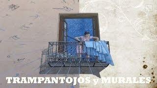 getlinkyoutube.com-ARTE URBANO: Trampantojos y murales. Madrid engaña con mucho arte