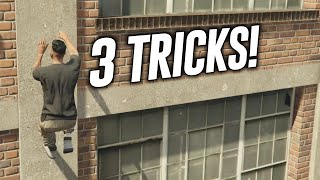 getlinkyoutube.com-GTA 5 Online: 3 Tricks On GTA 5 Online! (Take Out Doors, Player Launch & Secret Ladder Room)