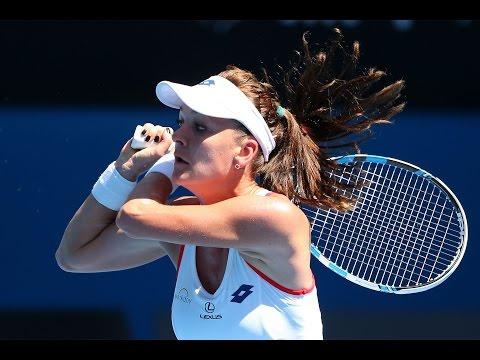 Johanna Larson vs Agnieszka Radwanska Highlights HD Australian Open 2015