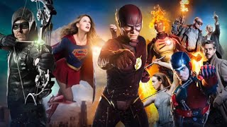 getlinkyoutube.com-The Flash ⚡ Arrow   Legends Of Tomorrow   Supergirl - Warriors
