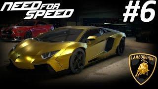 getlinkyoutube.com-LAMBORGHINI AVENTADOR: Need for Speed 2015 Walkthrough Part 6