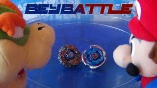getlinkyoutube.com-BeyBattle! Cosmic Pegasus W105R2F VS L-Drago Destructor LW105LF!