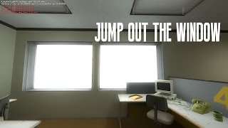 getlinkyoutube.com-Stanley Parable : Jump Out The Window
