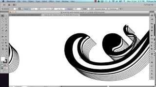 getlinkyoutube.com-Decorative text shadowing in Illustrator - tutorial