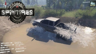 getlinkyoutube.com-Spintires Chevy thing And Dodge Mud truck