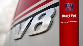 getlinkyoutube.com-Mercedes Benz Actros V8 TITAN Special Edition Truck