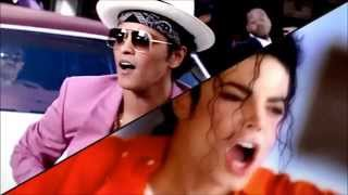 getlinkyoutube.com-Mark Ronson feat Bruno Mars & Michael Jackson (UPTOWN FUNK REMIX)