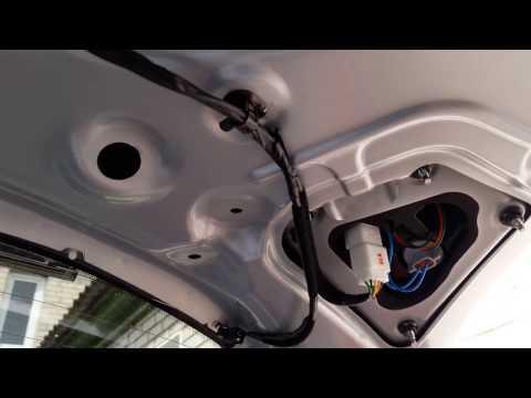 Как снять обшивку задней двери багажника Hyundai Creta