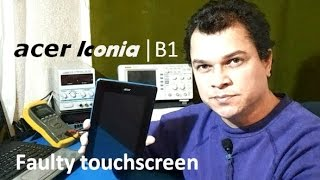 getlinkyoutube.com-Tablet Acer Iconia B1-A71 with faulty touchscreen