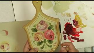 getlinkyoutube.com-How to Paint a Simple Stroke Rose Paint It Simply.flv