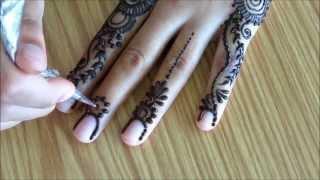 getlinkyoutube.com-henna for beginners: episode 9/10