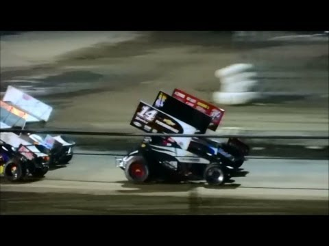 Tony Stewart Wins (Heat Race 1) In Ocala, Florida