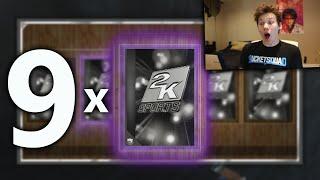 getlinkyoutube.com-9 X AMETHYST PULLS IN ONE VIDEO! ALL STAR MVP PACKS - NBA 2K16