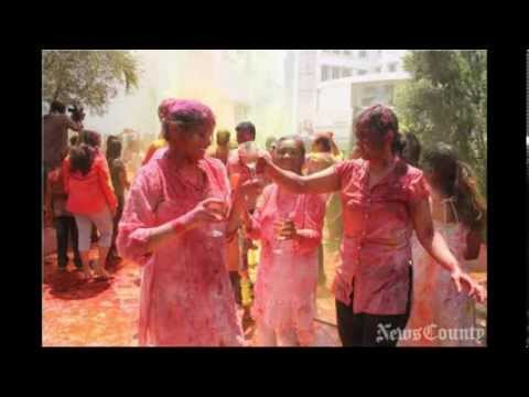 Holi celeberations  in Hyderabad