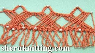 getlinkyoutube.com-Way to Develop Hairpin Crochet Strip Tutorial 30 How to Crochet Hairpin Braid