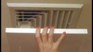 Elima Draft Air Conditioner Heater Ceiling Wall Vent Register Covers Youtube