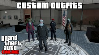 getlinkyoutube.com-GTA 5 Online - Custom Outfits (Modded With AP II Intense Mod Menu)