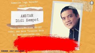 Karaoke tanpa vokal AMBYAR - DIDI KEMPOT