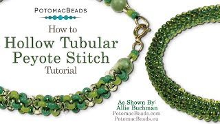 getlinkyoutube.com-How to Make Hollow or Tubular Peyote Stitch (Seed Beading 318)