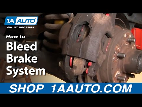 How to Bleed Air Braking System
