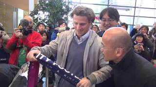 Diego Forlan Welcome to Cerezo Osaka, Japan
