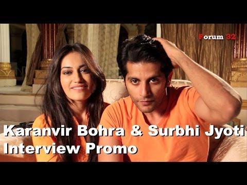 Qubool Hai   Interview   Karanvir Bohra and Surbhi Jyoti