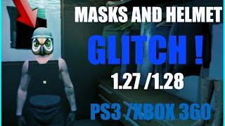 GTA 5 Online - How To Wear Glasses, Mask & Helmet  At The Same Time *1.27/1.28* (PS3/XBOX 360)