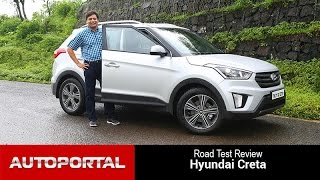 getlinkyoutube.com-Hyundai Creta Test Drive Review - Auto Portal