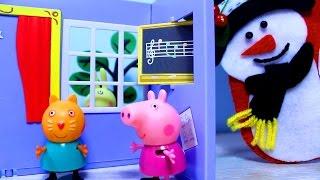 getlinkyoutube.com-Свинка Пеппа  Сапожок  для подарков. Мультфильмы для детей Peppa Pig