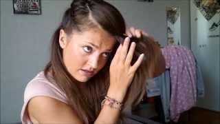 getlinkyoutube.com-Les 5 coiffures express, pour les pressés du matin (3min maxi)
