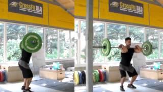 getlinkyoutube.com-CrossFit BLQ - Power Clean and Squat Clean
