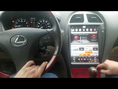 Вертикальный Монитор с климат контролем на Lexus ES 2007-2012