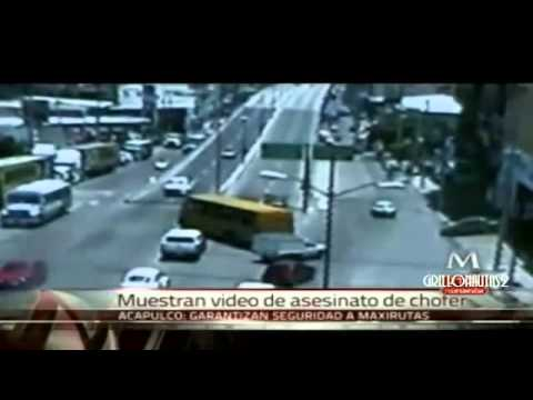 Video en Vivo Sicarios Asesinan a Chofer en Acapulco