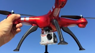 getlinkyoutube.com-SYMA X8HG TEST FLIGHT----ALTITUDE HOLD!!!