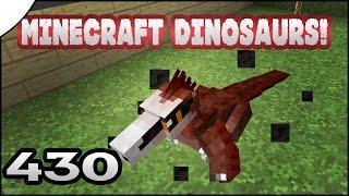 getlinkyoutube.com-Minecraft Dinosaurs!    430    MOST TAMING EVER