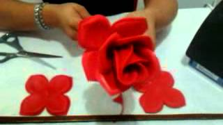 getlinkyoutube.com-Rosa de foamy
