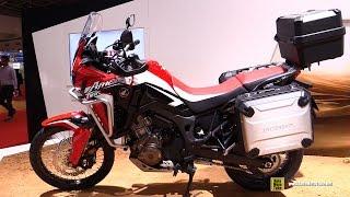 getlinkyoutube.com-2016 Honda CRF1000L Africa Twin - Walkaround - 2015 Tokyo Motor Show