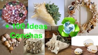 getlinkyoutube.com-Reciclar Conchas +100 Ideas / Recycled Shells +100 Ideas