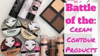 Battle of the Drugstore Cream Contour Products! Wet N Wild, Elf, Jordana Cosmetics