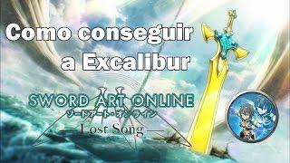 """getlinkyoutube.com-Como conseguir a """"Excalibur"""" en [Sword Art Online Lost Song!] PS4/PS Vita Español"""