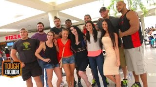 getlinkyoutube.com-Paige busts the competitors at the mall - WWE #ToughEnough