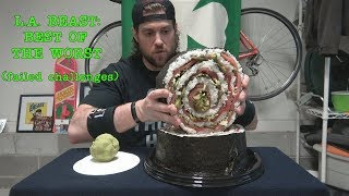 L.A. BEAST Best of The Worst (Failed Challenges) ft.   15 Pound Piece Of Sushi width=