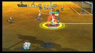 getlinkyoutube.com-Inazuma Eleven Strikers 2012 Xtreme Raimon B vs Raimon A ep.127( Hard 3 stars )