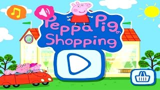 getlinkyoutube.com-Peppa Pig Shopping | Peppa Pig Games | Peppa Pig Shopping Gameplay | Best Peppa app demo for kids