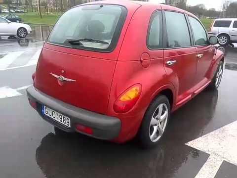 Обзор из Литвы Chrysler PT Cruiser, 1000 евро!, 2002, хэтчбек, 2.0 газ/бензин, автомат, Часть 4