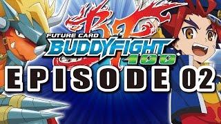 getlinkyoutube.com-[Episode 2] Future Card Buddyfight Hundred Animation
